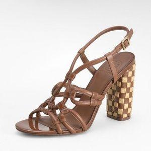 "| Tory Burch | ""Layce"" block heels"